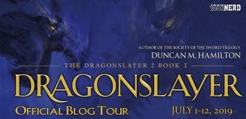 Blog Tour Dragonslayer & Giveaway